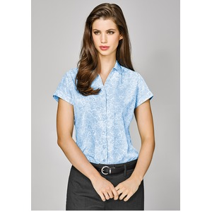 Solanda Ladies Print S/Sleev e Shirt