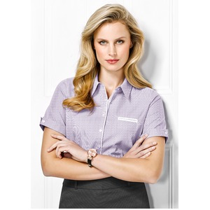Calais Ladies S/sleeve Sleeve Shirt