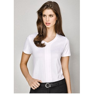 Mae S/Sleeve Ladies Shirt