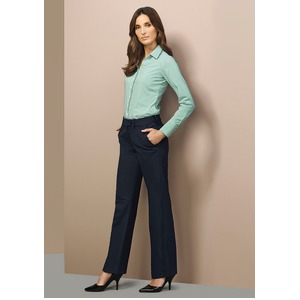 Ladies Mid Rise Adjustable Waist Pant