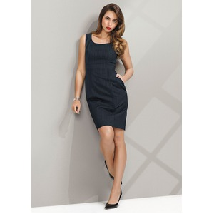 Sleeveless Side Zip Dress