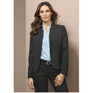 Ladies Short Jacket with reverse lapel