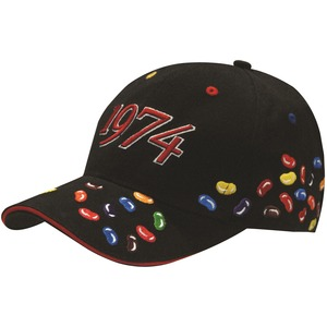 Jelly Bean Embroidery Cap