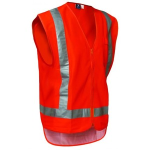 Protex Day/Night Polyester Vest - Zipped